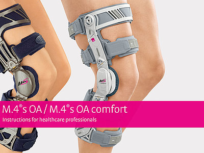 M.4®s OA / M.4®s OA comfort – Instructions for healthcare professionals