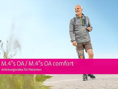 M.4®s OA / M.4®s OA comfort - Anleitungsvideo für Patienten
