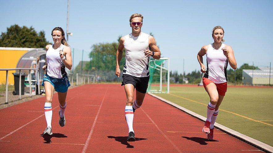 Sommertraining der DSV Athleten