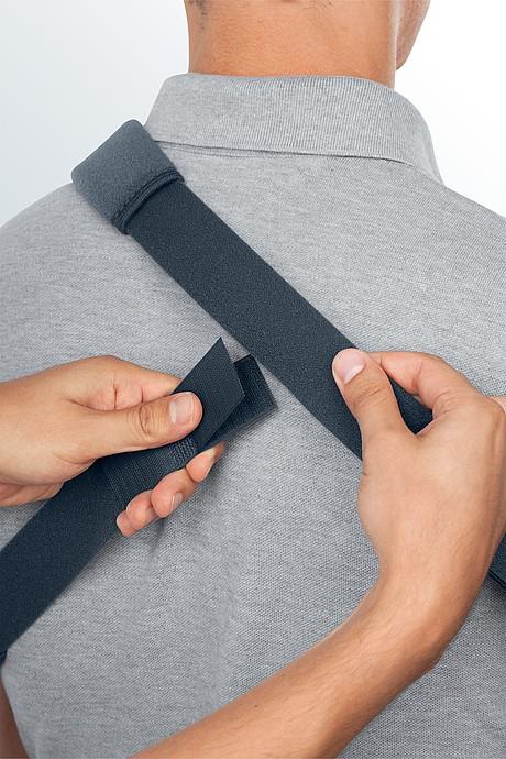 medi SAK Schulterabduktionskissen Schultergurt Rückseite
