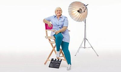 Stephanie Lüer, lipoedema patient