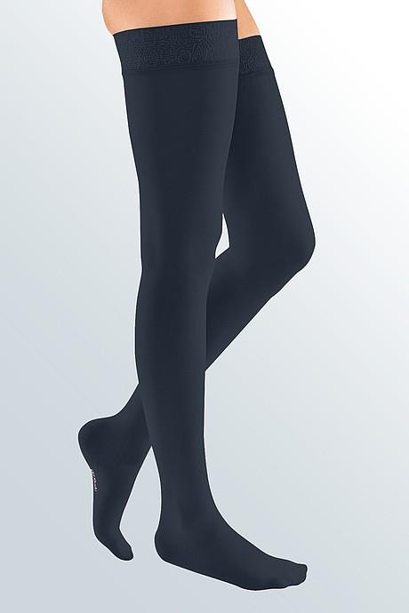 mediven elegance Kompressionsstrümpfe Venentherapie mondscheinblau