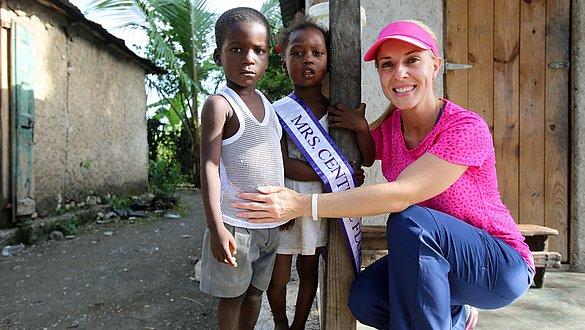 Hilfe für Haiti: Da sein, wenn es darauf ankommt