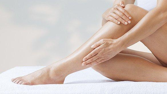 Hautpflege für die Beine