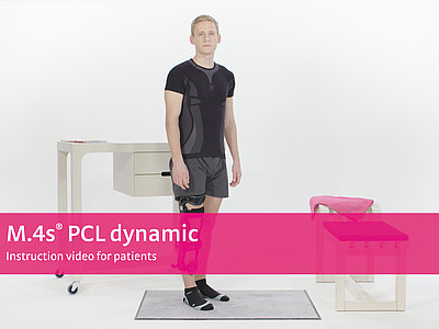 M.4s PCL dynamic – Instruction video for patients