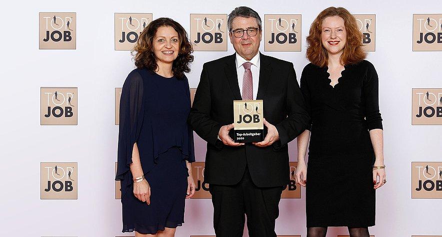 Top Job-Siegel: medi ausgezeichnet als bester Arbeitgeber