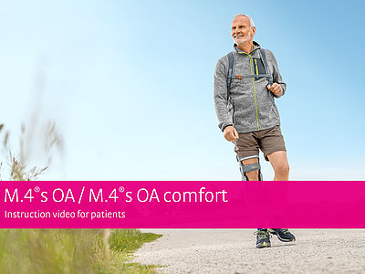 M.4s OA comfort – Instruction video for patients