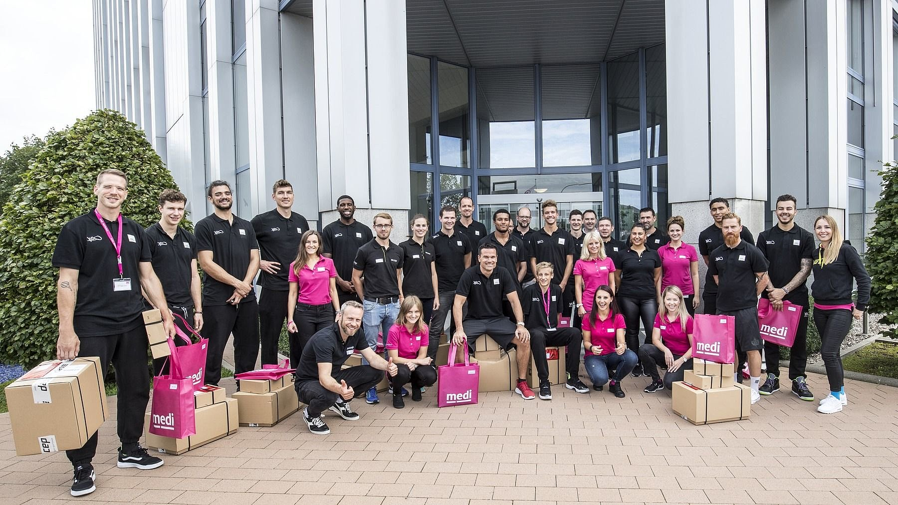 medi bayreuth Einkleidung 2017