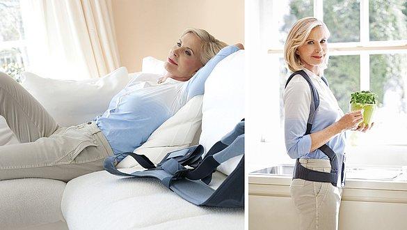 Spinomed Rückenorthese zur Therapie von Osteoporose Frau - Leitliniengerechte Osteoporose-Therapie