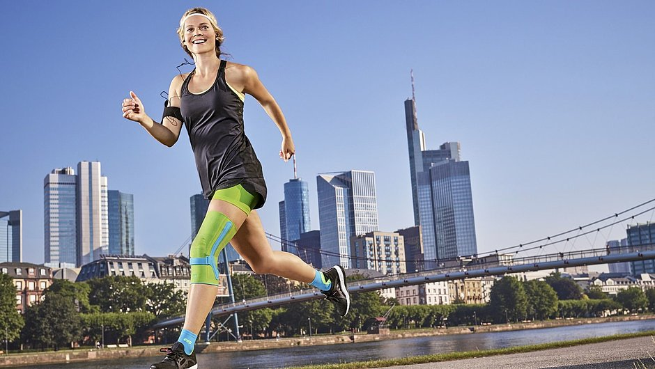 Genumedi PSS Kniebandage Sport joggen