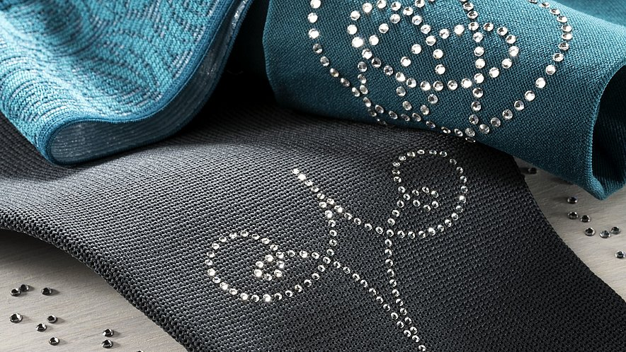 medi compression stockings with swarovski cristals