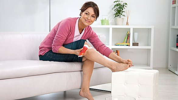 Hautpflegeprodukte von medi für eine wohltuende Kompressionstherapie
