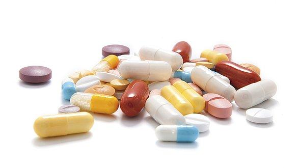 Medikamente Tabletten -