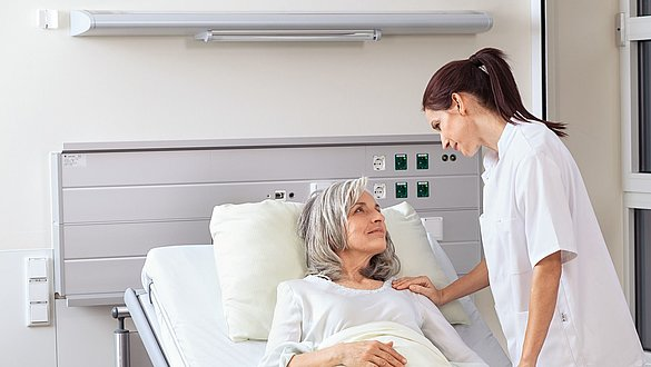 Krankenzimmer - Thromboseprophylaxe im Krankenhaus