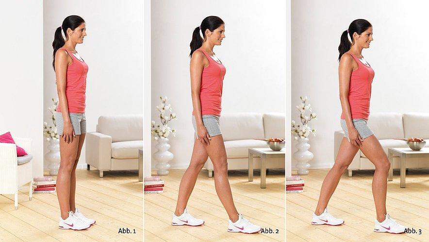 Physioübung Ausfallschritt