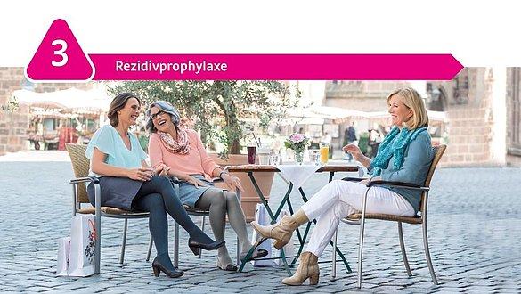 Rezidivprophylaxe mit Kompression - Rezidivprophylaxe mit Kompression
