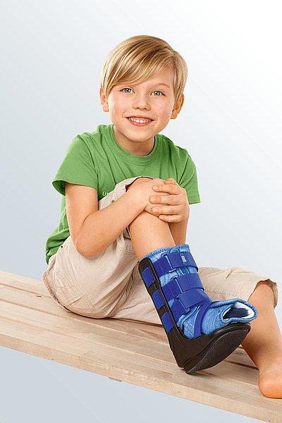 Unterschenkel Fuß Orthese Kompression Kinder