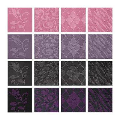 Farben- und Musterübersicht der mediven Fashion Elements