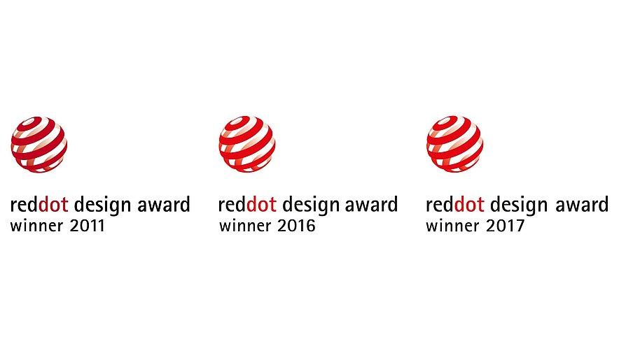 Reddot Design Award Gewinner 2011 2016 2017