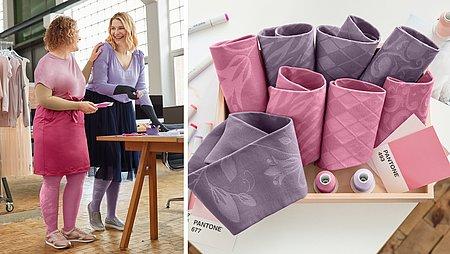Trend colours 2018 flat knit