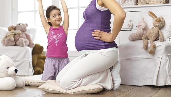 Eine Schwangerschaft belastet die Venen