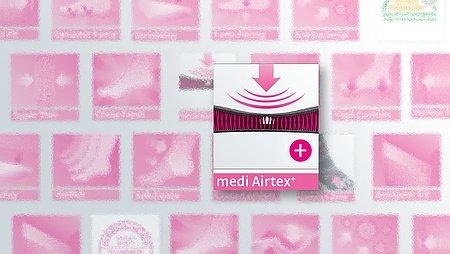 Airtex+ Ausstattungsmerkmal von medi