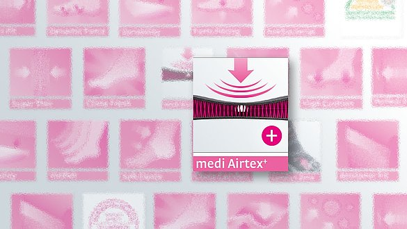 medi Airtex⁺ - Hoher Tragekomfort - medi Airtex⁺ - Hoher Tragekomfort