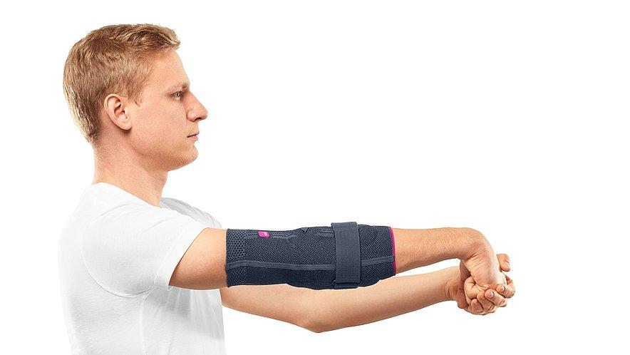 Tennis elbow: Stretching exercise - Tennis elbow: Stretching exercise