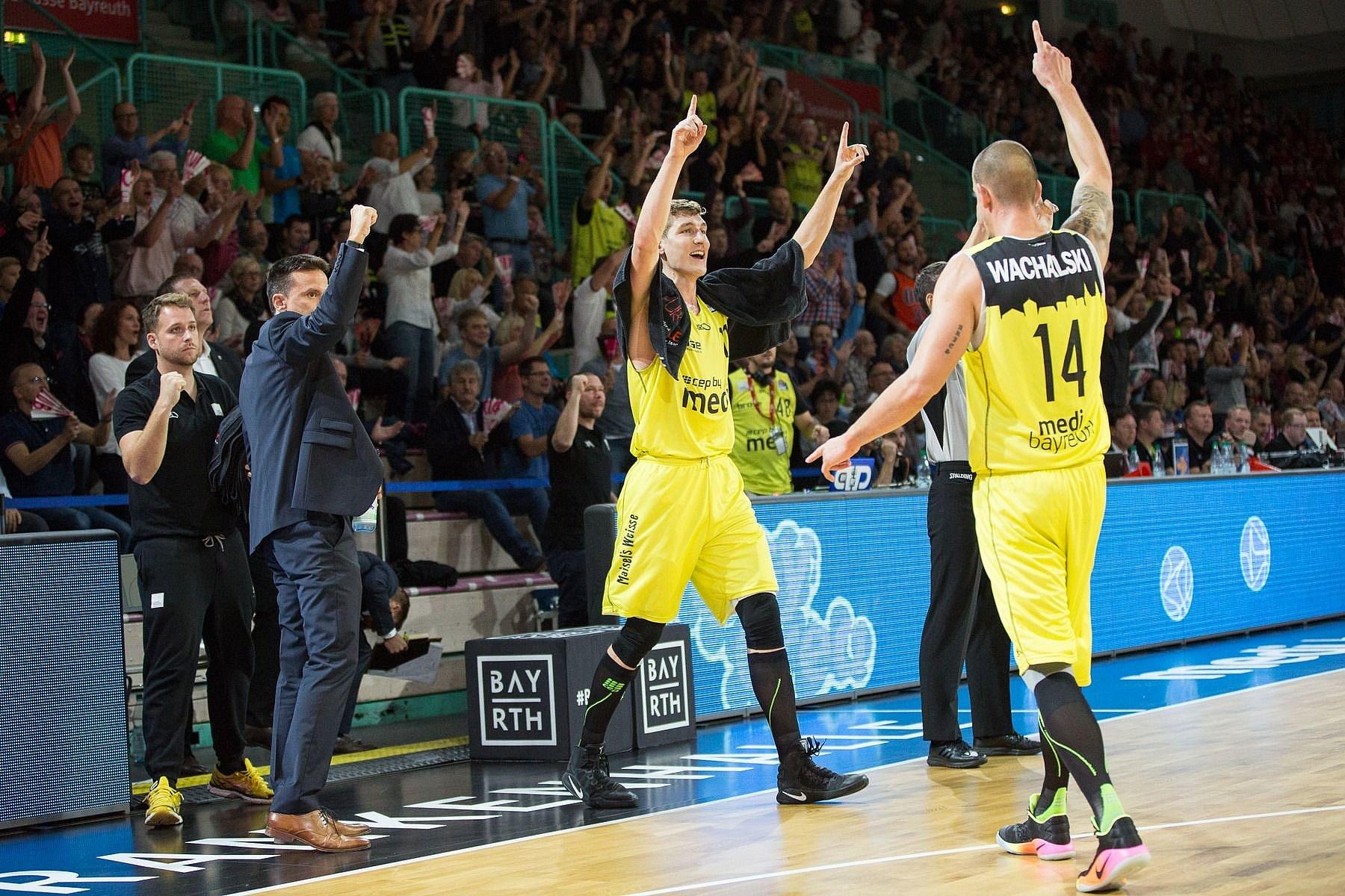 medi bayreuth Basketball Playoffs