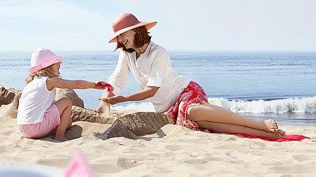 Kompressionstherapie im Sommer mediven plus