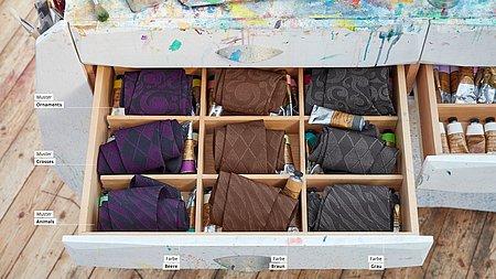 mediven Flachstrick Trendfarben und -Muster