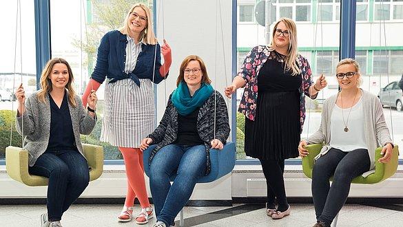 Modebloggerinnen bei medi - Modebloggerinnen bei medi