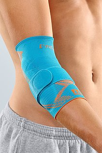 Epicomed E+motion sportliche Ellenbogenbandage von medi