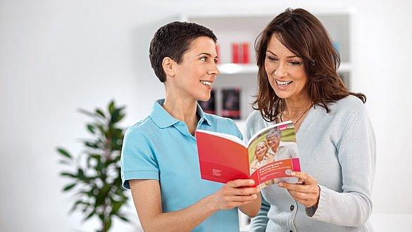 Beratung im Fachhandel zur Phlebologie Broschüre - Werbemittel