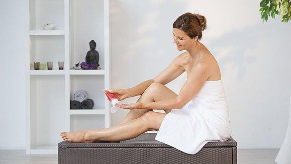 Spezielle Hautpflegeprodukte von medi für schöne Beine - Spezielle Hautpflegeprodukte von medi für schöne Beine