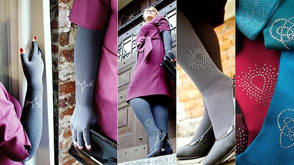 Swarovski cristals for all mediven flat knit compression stockings