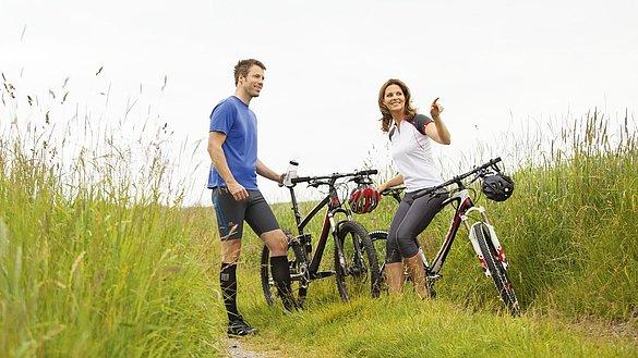Radfahren bringt Bewegung in den Alltag