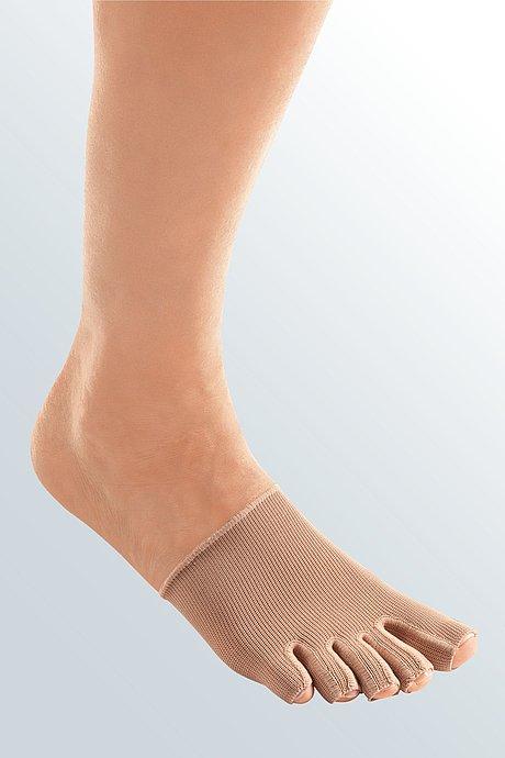 mediven 550 Bein Kompressionsstrümpfe Zehenkappe einzeln caramel