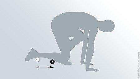 Übungen Blackroll Mini Schienbein - Übungen Blackroll Mini Schienbein