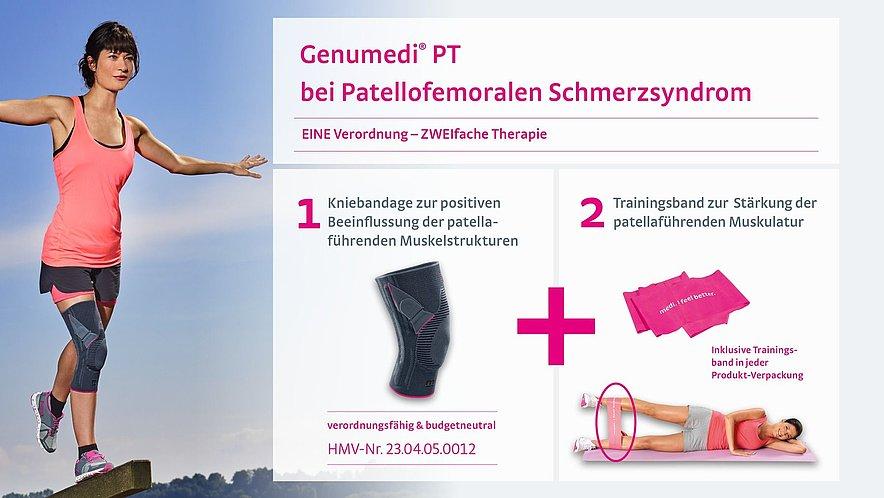Genumedi PT zur Therapie des Patellofemoralen Schmerzsyndroms - Genumedi PT Therapie Patellofemorales Schmerzsyndrom