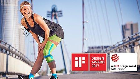 Genumedi PSS ausgezeichnet mit dem iF DESIGN AWARD 2017 und dem Red Dot Award