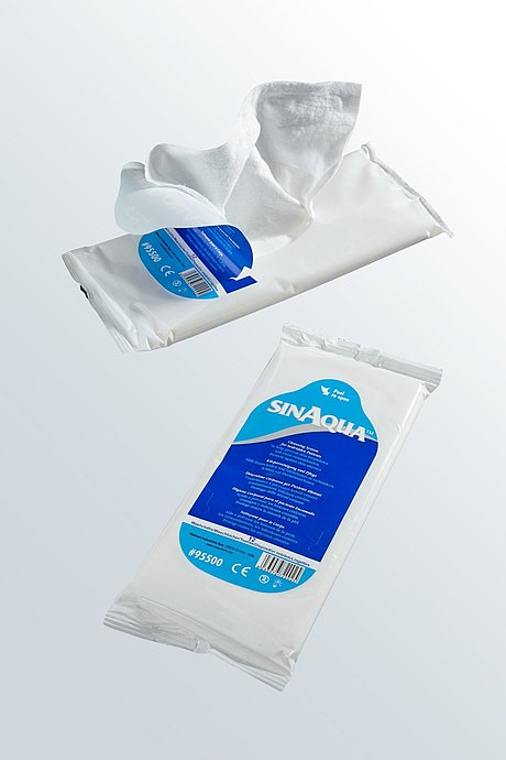 hospital cleansing wipes