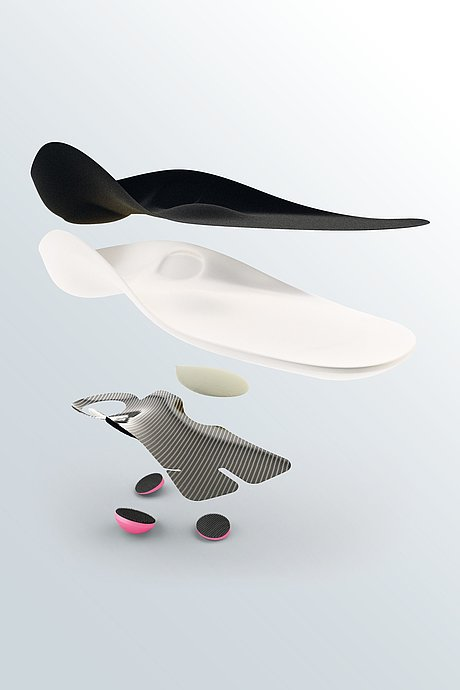 igli Allround Lightindividual carbon insoles composition