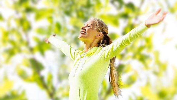 Feeling well despite springtime lethargy - Feeling well despite springtime lethargy