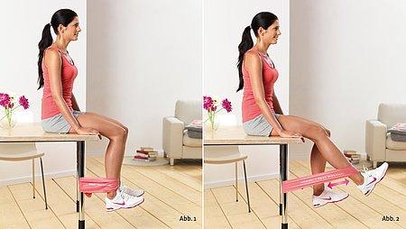Knee straightening - Knee straightening