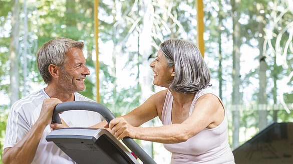 Sport is also important for the over 60s
