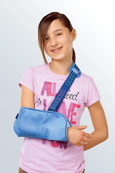 orthosis shoulder joint stable sling for kids