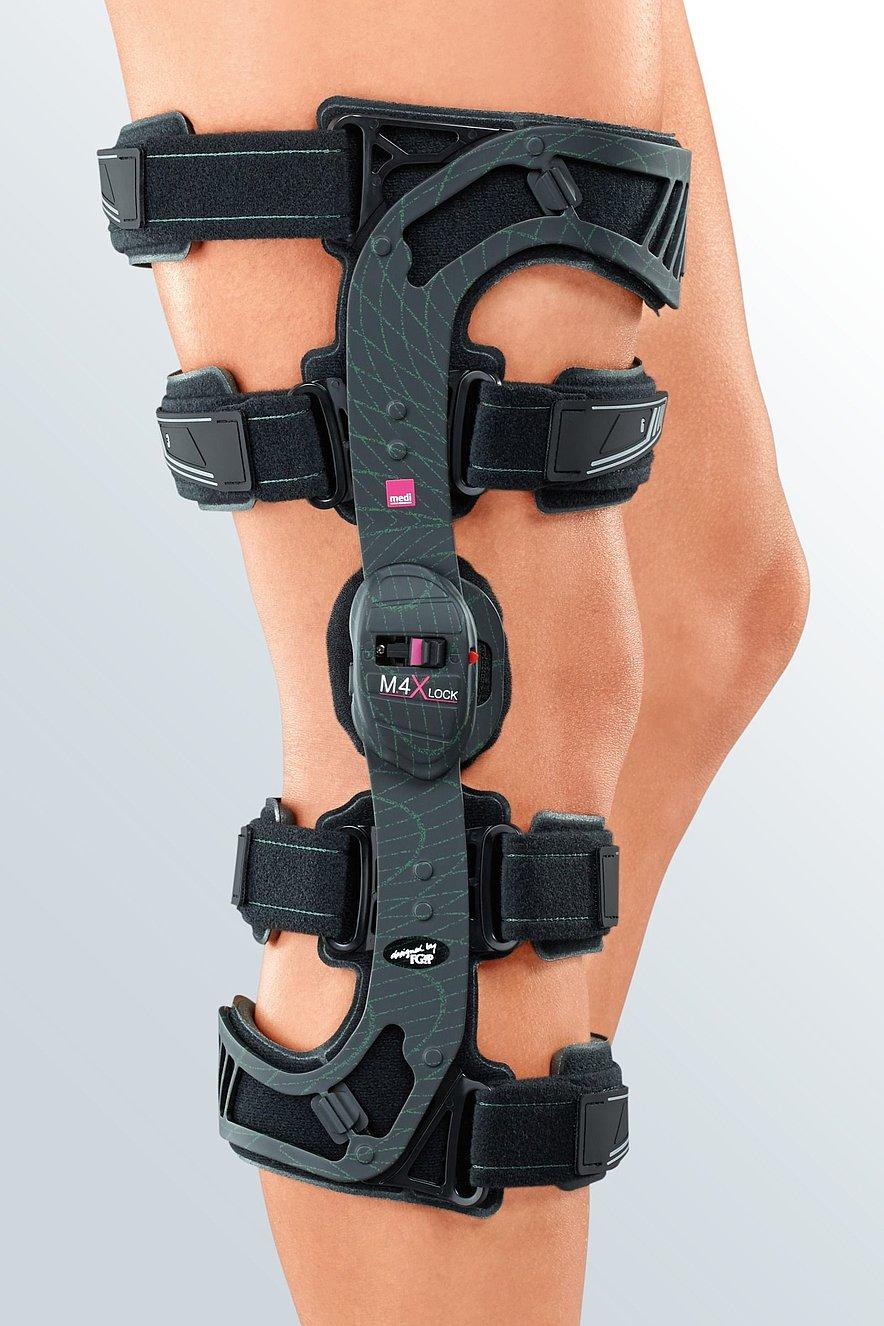 medi M.4 X-lock knee brace - medi M.4 X-lock knee brace