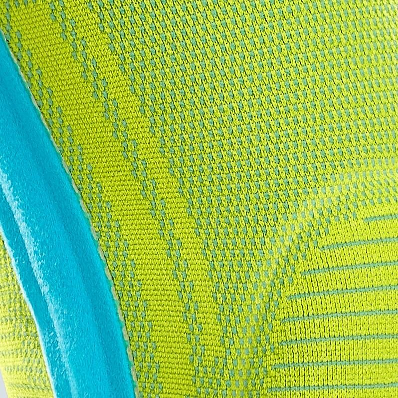 Colour soft supports Lime / Azure - Colour soft supports Lime / Azure