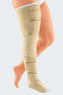 compression garment inelastic chronic oedema lymphoedema